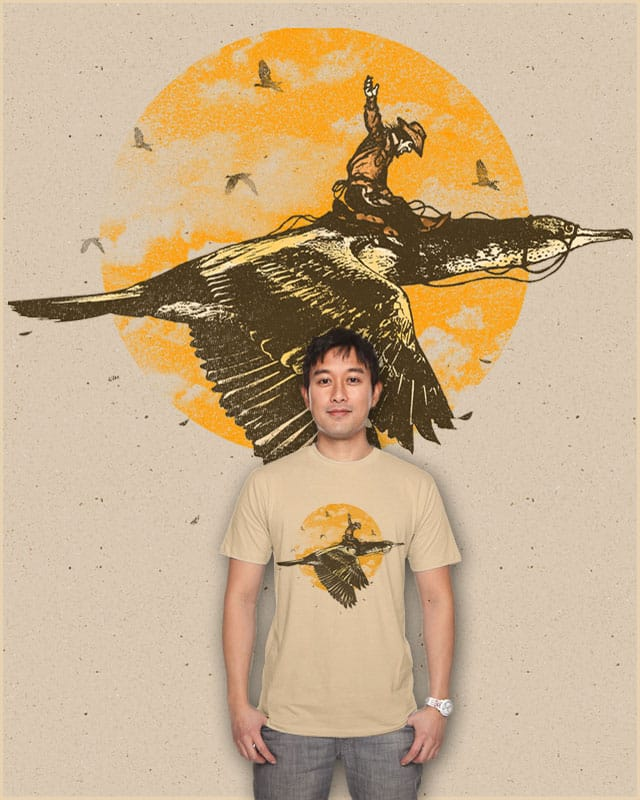 Ride The Sky by ramil21 on Threadless