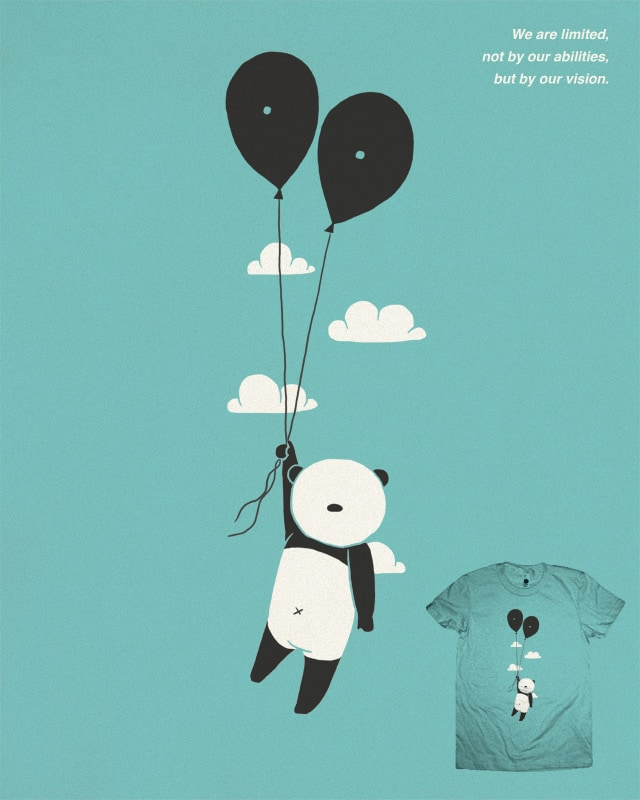 The Vision of Panda by ilovedoodle on Threadless