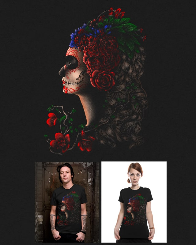 Dia De Los Muertos by barmalisiRTB on Threadless