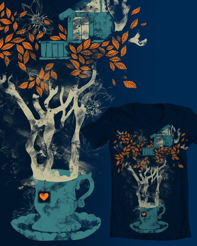 Tea House by tobiasfonseca on Threadless