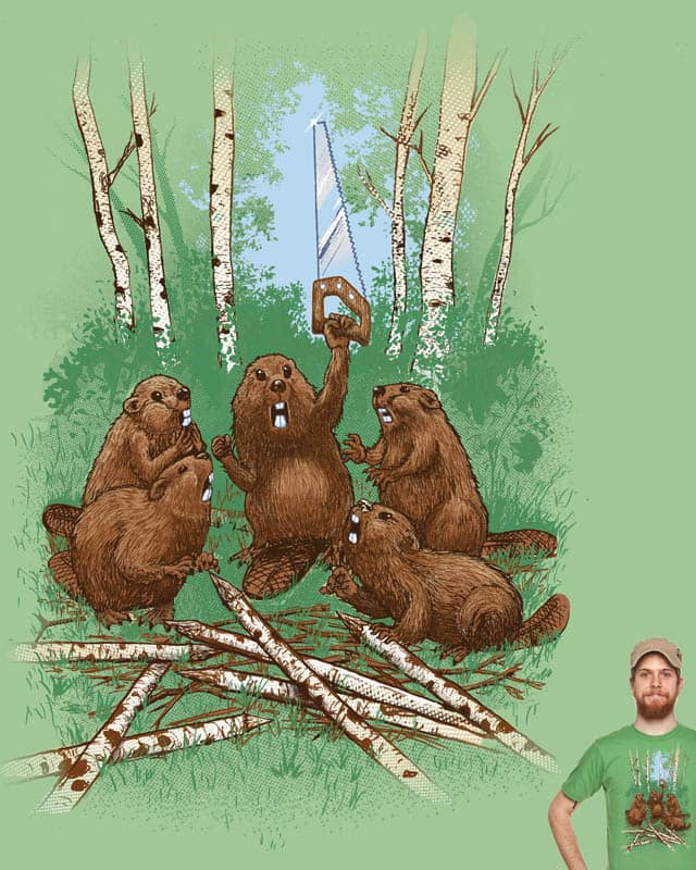 Castor canadensis habilis. by choubaka360 on Threadless