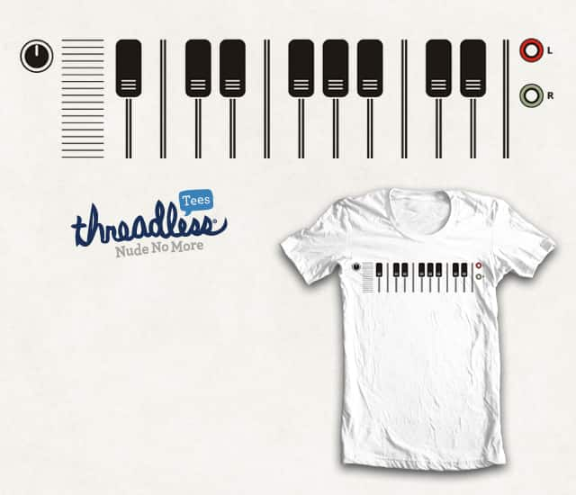 stereo piano by netralica on Threadless