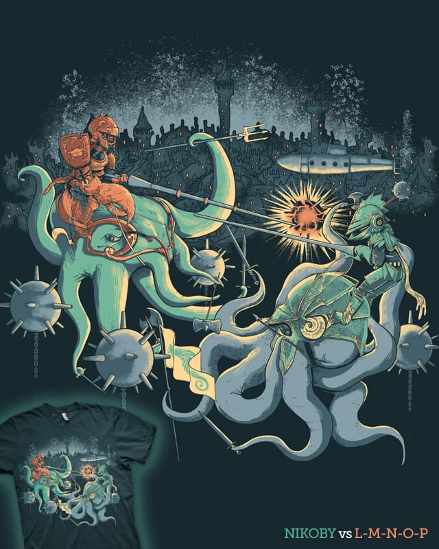 A Midnight Subaquatic Knights Tale by nikoby on Threadless