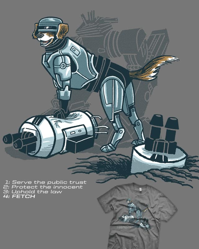Robopup by r.o.b.o.t.i.c.octopus on Threadless