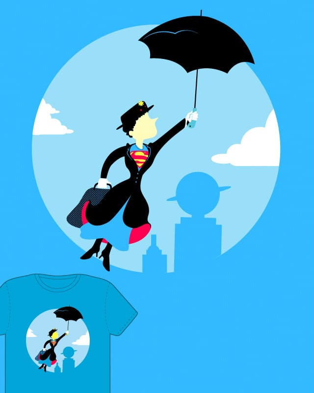 Super Poppins by curvilineo on Threadless