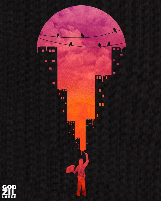 Sunset Painter by GODZILLARGE on Threadless