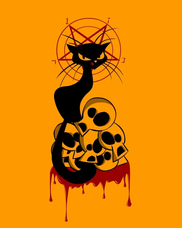 Tournee Du Chat Diabolique by Cami90 on Threadless