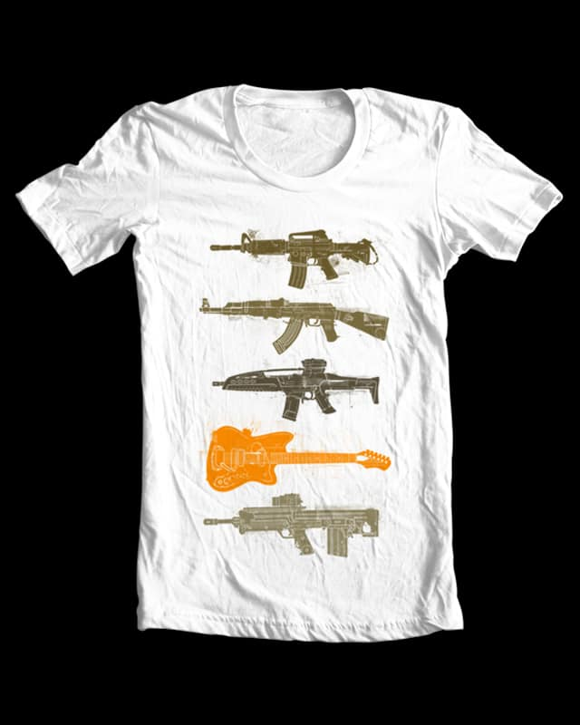 Choose your weapon by toby.wilkinson on Threadless