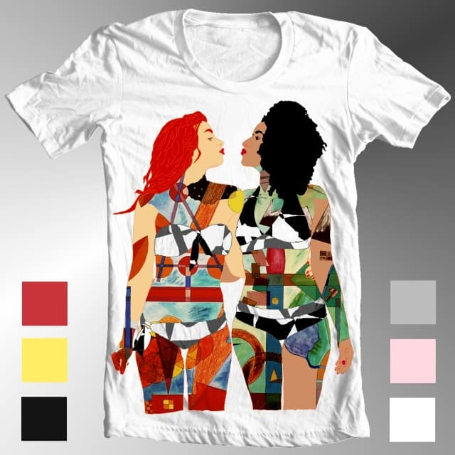BODY PAINTING (4) by PWCD on Threadless