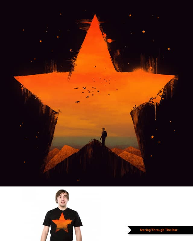 Staring Through The Star by TangYauHoong on Threadless