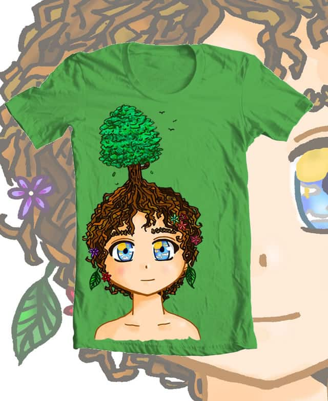 a child of nature by cazzy-chan on Threadless