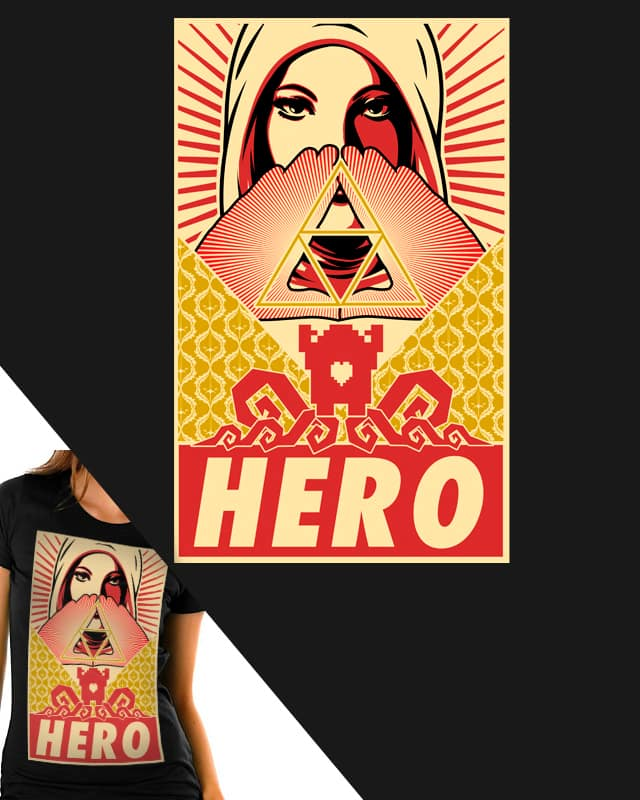 HERO by kaseyfleming on Threadless