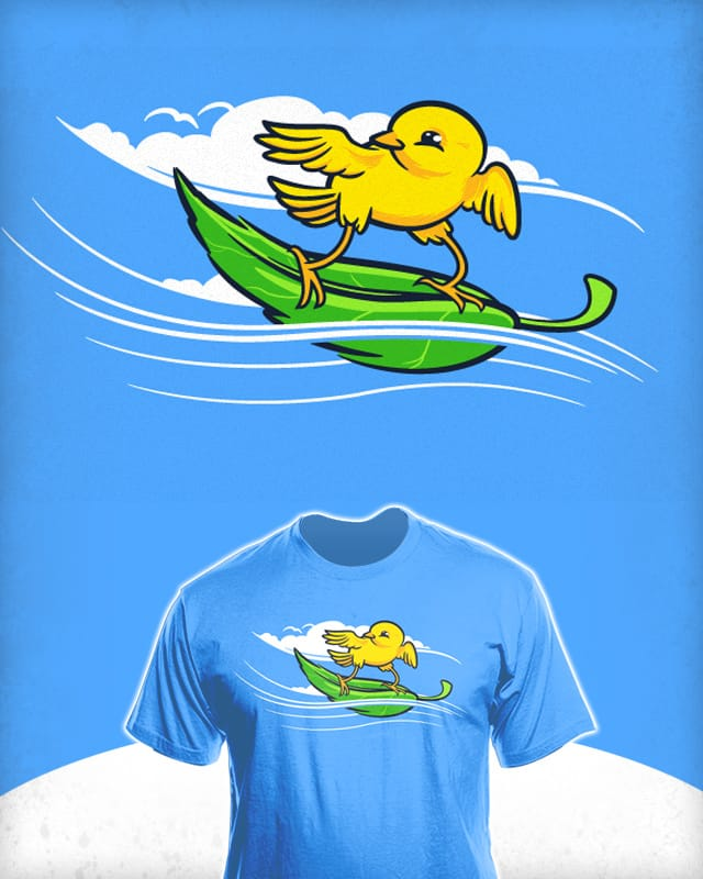 Wind Surfer by thunderpeel on Threadless