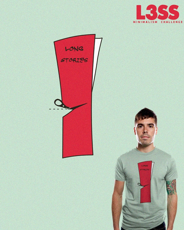 To cut a long story short by bandy on Threadless