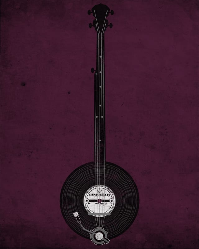 Banjo Beats by digsy on Threadless