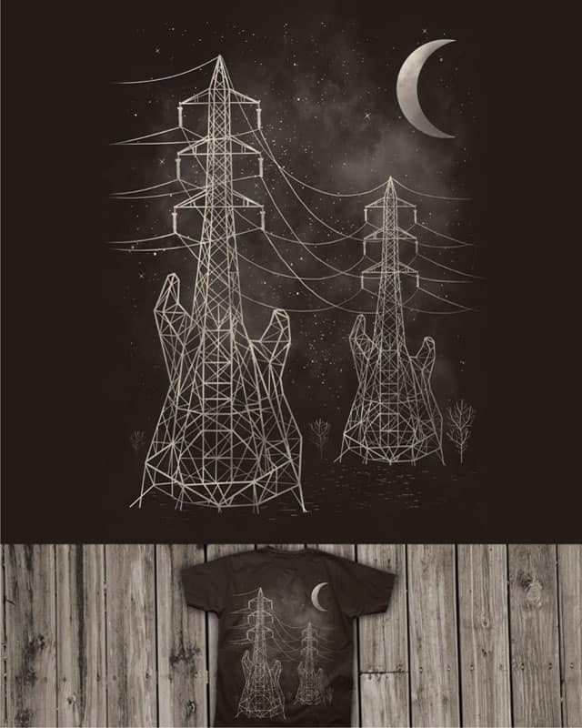 Electrical Melody by caffeinart on Threadless