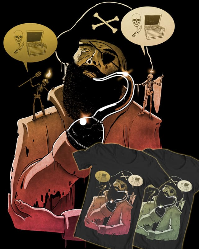 Pirate Conflict by 110specialblack on Threadless