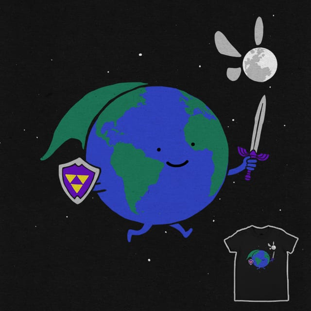 You Can't Escape The Moon by the Sleeping Sky on Threadless