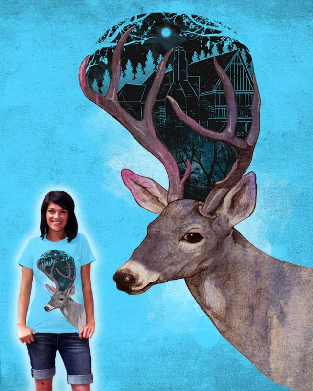 Oh deer! I miss home by wyndeLLe on Threadless
