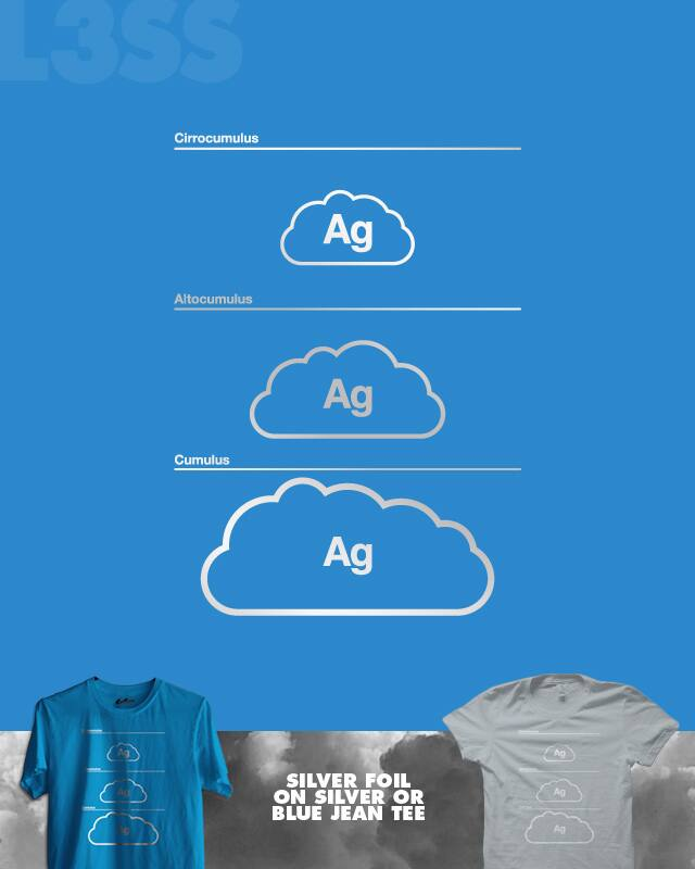 Every Cloud Has A Silver Lining by quick-brown-fox on Threadless