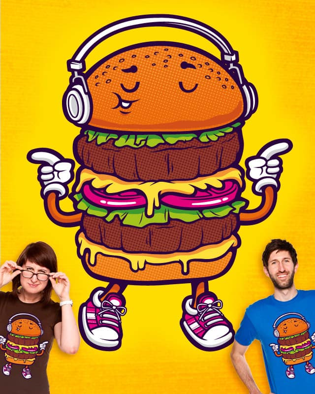 Burger Boogie by cronobeaker on Threadless