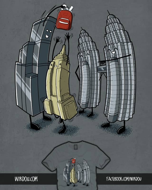 Empire State BULLYING by Wirdou on Threadless