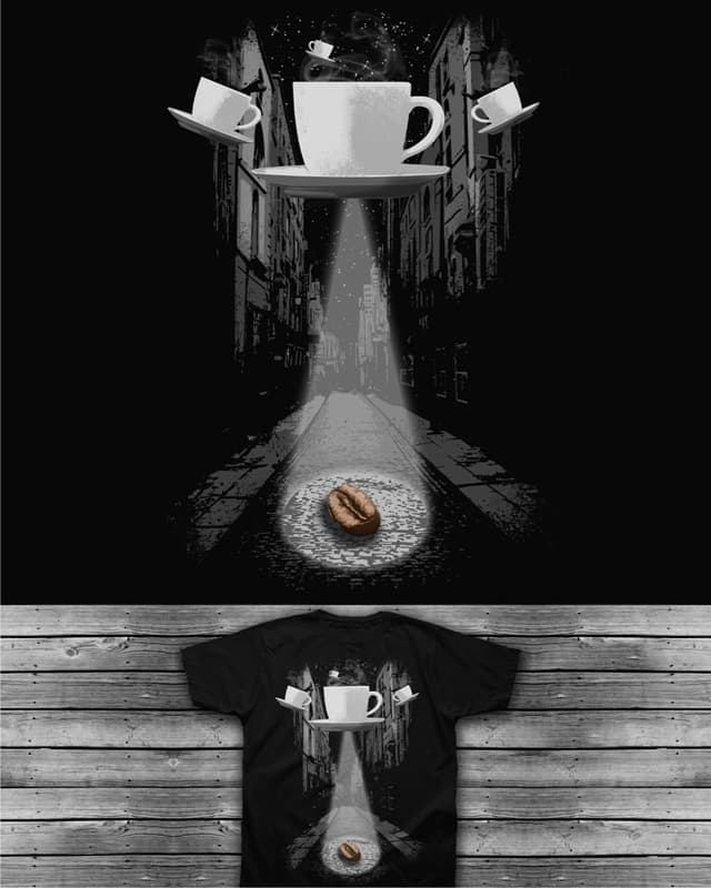 Mr.Coffee Bean by caffeinart on Threadless