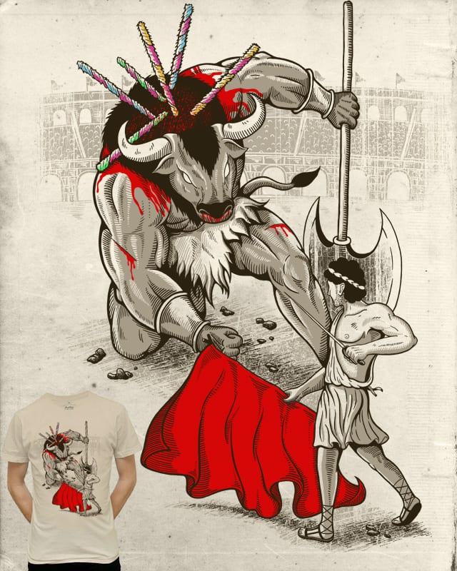 Theseus the Matador by Stereomode on Threadless