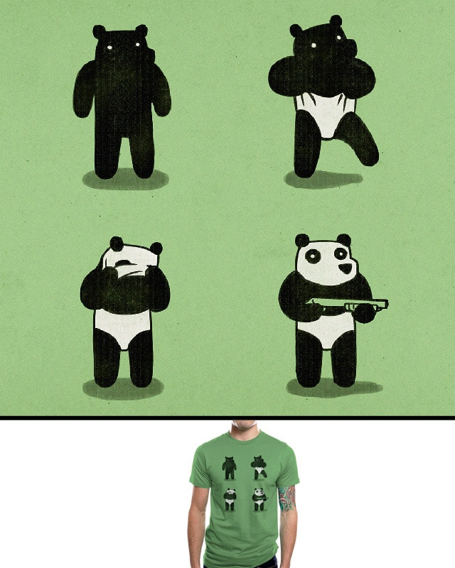 Bank Robbery Bear by aled on Threadless