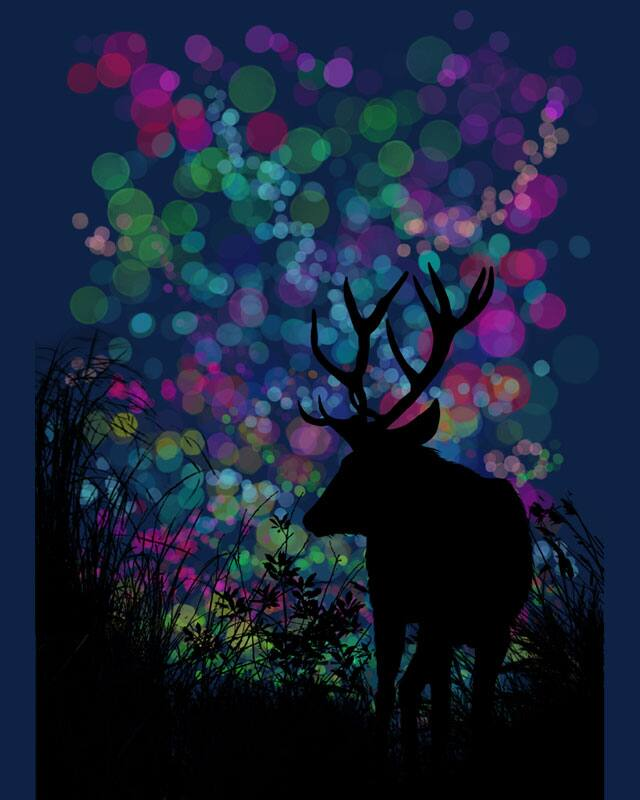 Have a nice deer ! by kooky love on Threadless