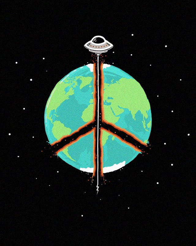 World Pieces by randyotter3000 on Threadless