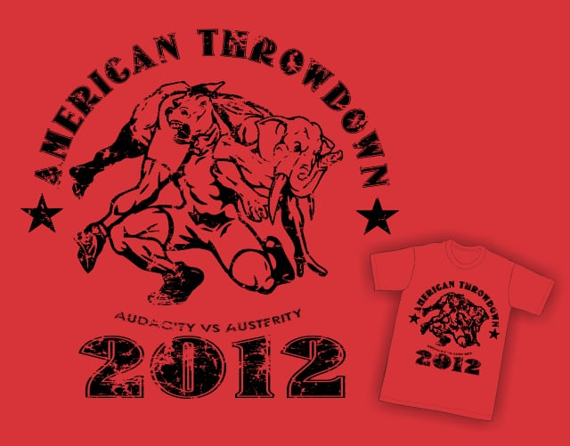 American Throwdown by Travegan on Threadless