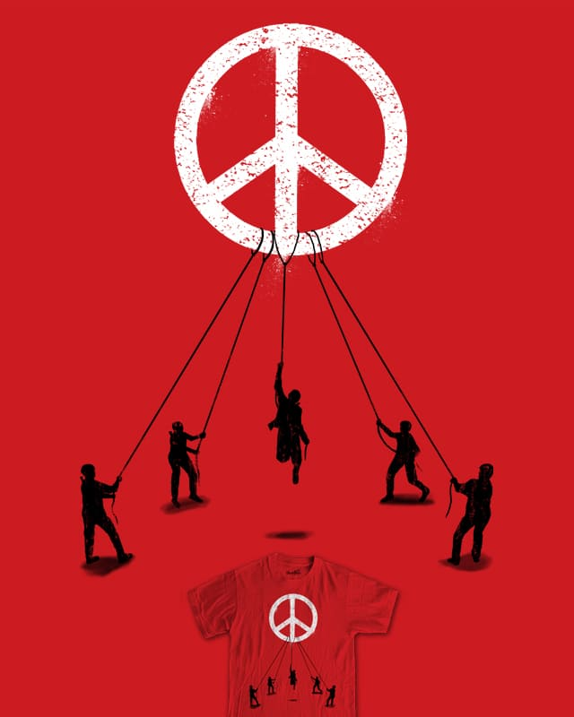 Bring Peace To The World by fathi on Threadless