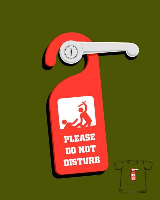 Do Not Distrub by Flying_Mouse on Threadless