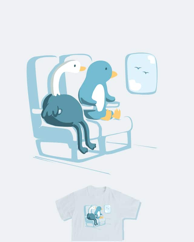Seat Buddies by nathanwpyle at gmail.com on Threadless