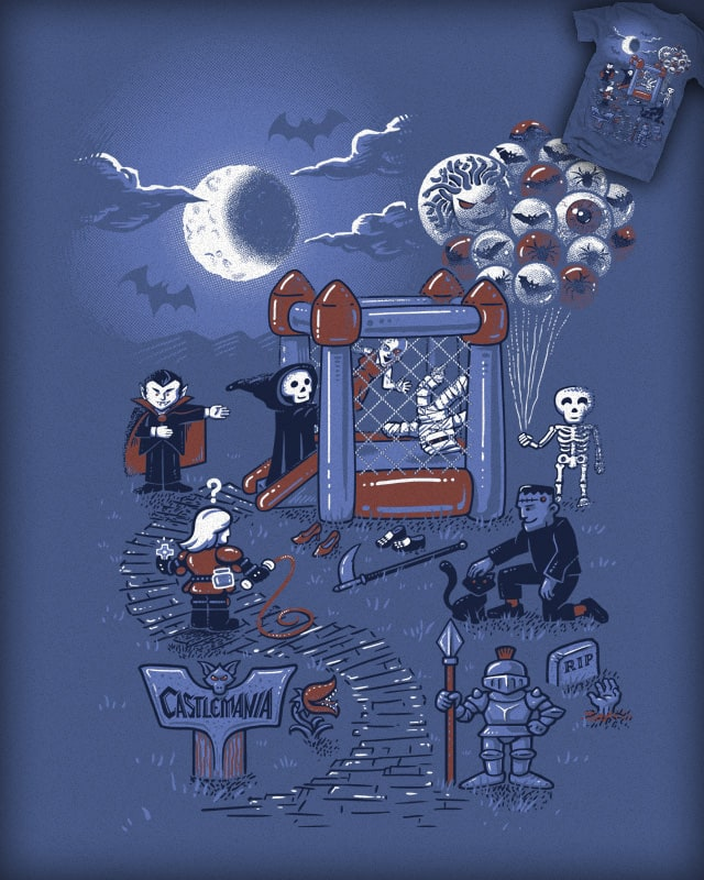 Castlemania by c0y0te7 on Threadless