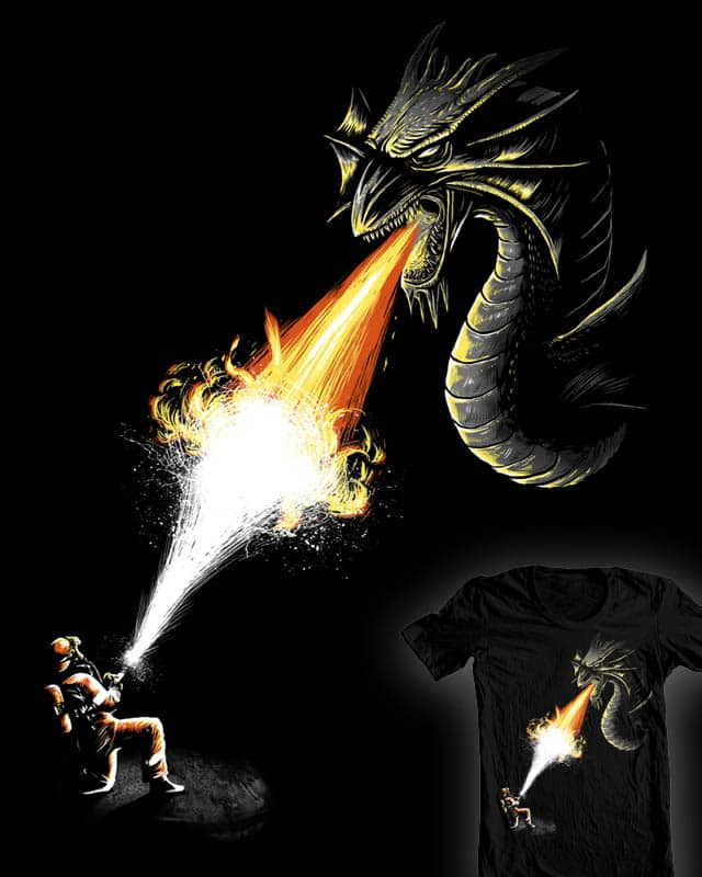a firefight by bokien on Threadless