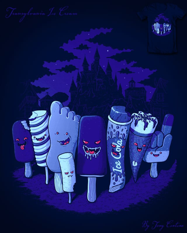 Transylvania Ice Cream by Tony Centeno on Threadless