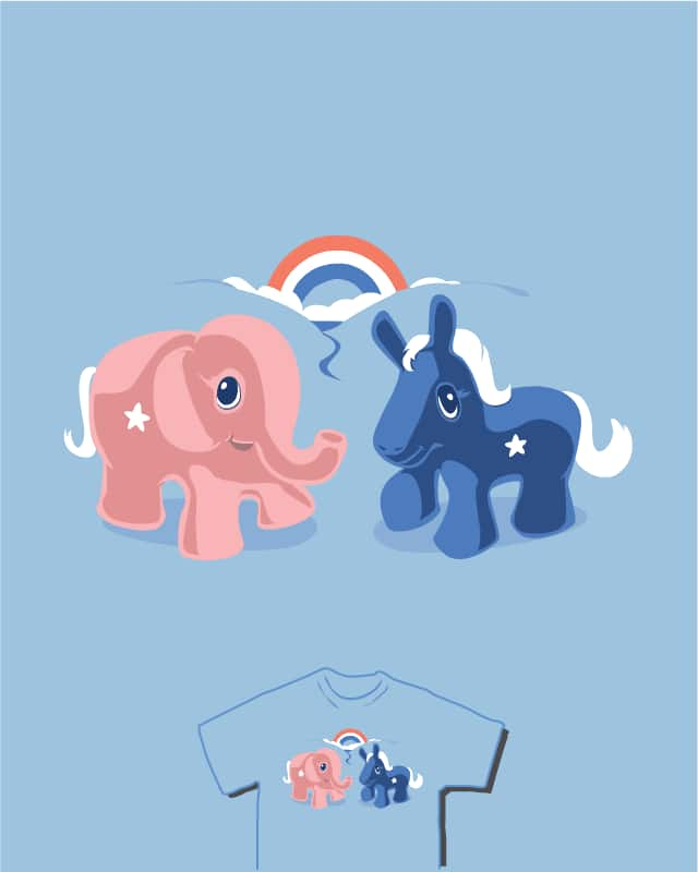 My Little Political Parties by nathanwpyle at gmail.com on Threadless