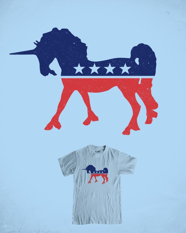 VOTE UNICORN by messing on Threadless