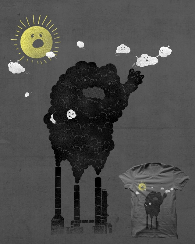 Save The White Clouds...!!! by zoe Healing on Threadless