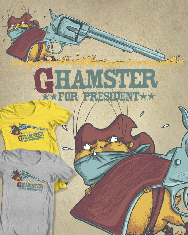Ghamster by Kalio on Threadless