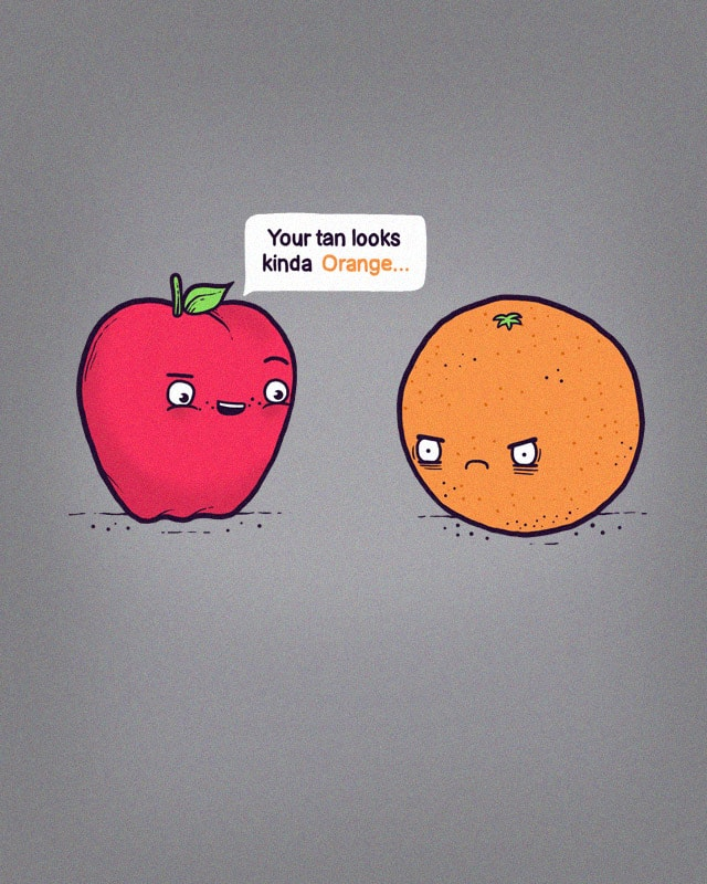 Fake Tan by randyotter3000 on Threadless