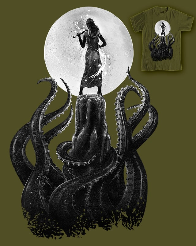 Awaken of the kraken by ken arok on Threadless