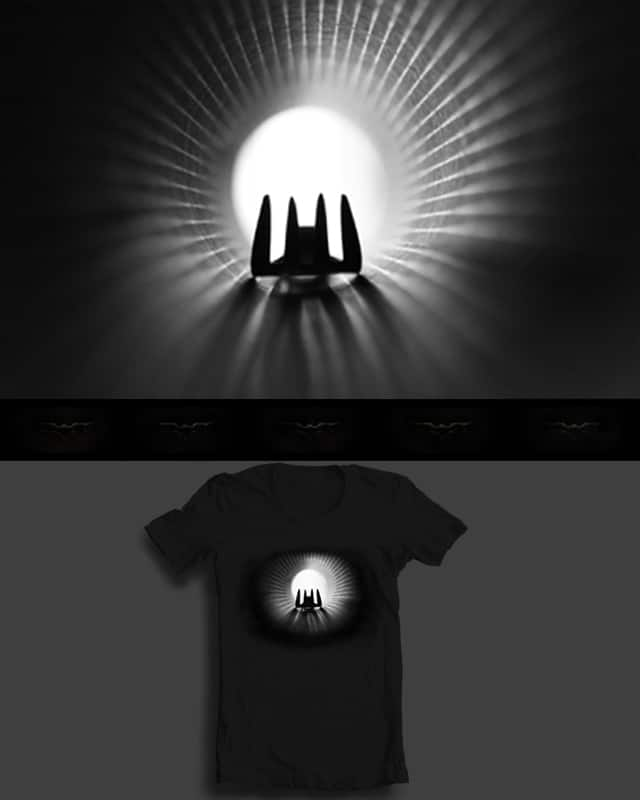 my fork is a superhero! by blackline75 on Threadless