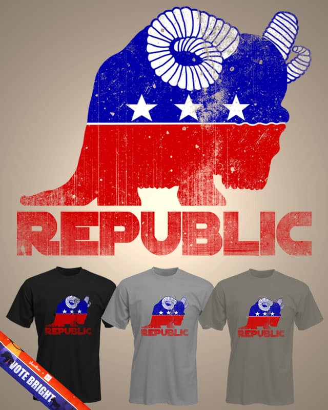 To The Republic by macdoodle on Threadless
