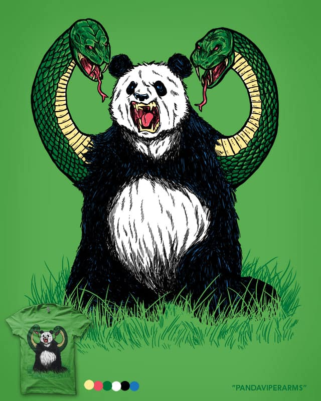 PANDAVIPERARMS by nickv47 on Threadless