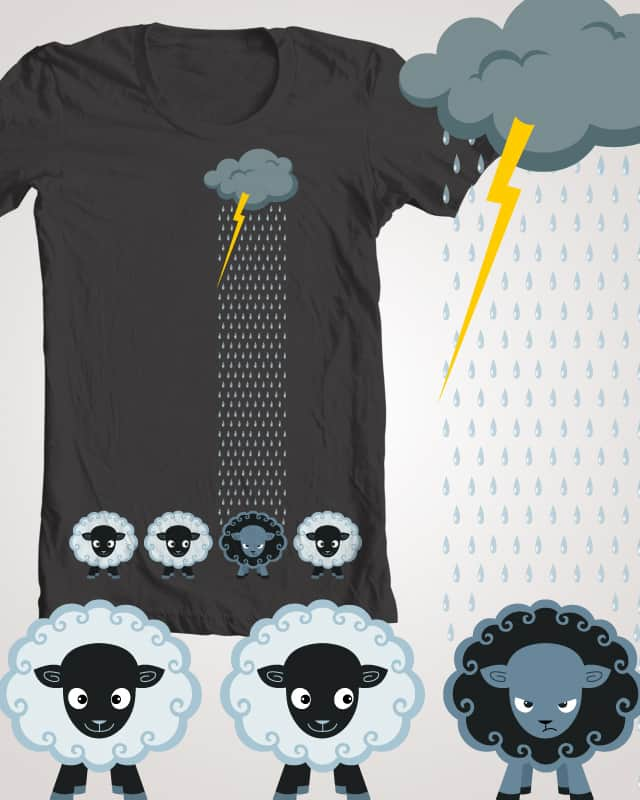 black sheep by SillyHilli on Threadless