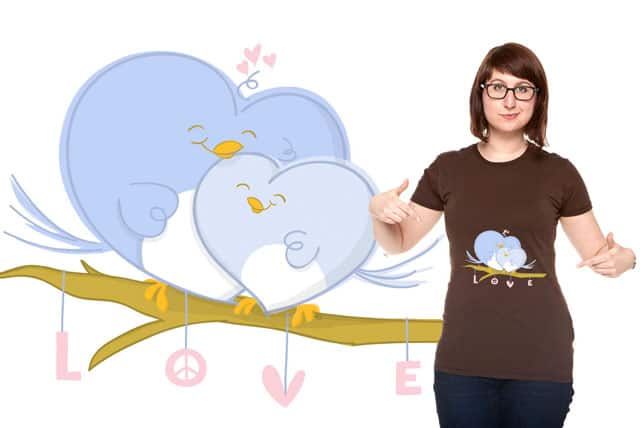 Love Birds by 2 Cute Ink on Threadless