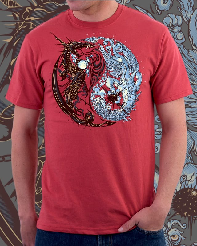 DRAGON'S YINYANG by asdrubalpc on Threadless